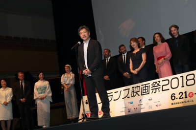 June 21: Opening of the 26th French Film Festival in Japan - Hirokazu Koreeda - © Laurent Campus
