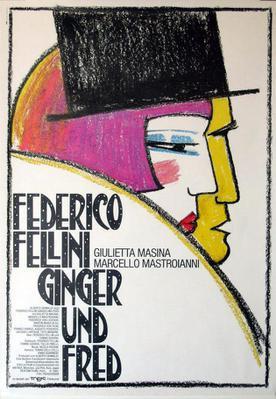 Ginger et Fred - Poster Allemagne