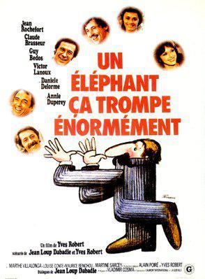 Un elefante se equivoca enormemente