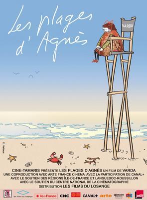 アニエスの浜辺 - Poster - France
