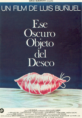 That Obscure Object of Desire - Poster Espagne