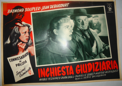 Identité judiciaire - Poster - Italie