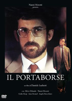 Le Porteur de serviette - Jaquette DVD Italie