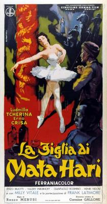 The Daughter of Mata-Hari - Poster Italie
