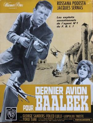 Dernier Avion pour Baalbek