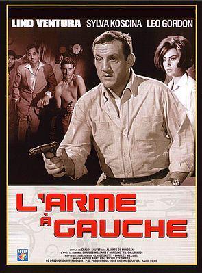 L'Arme à gauche - Jaquette DVD France