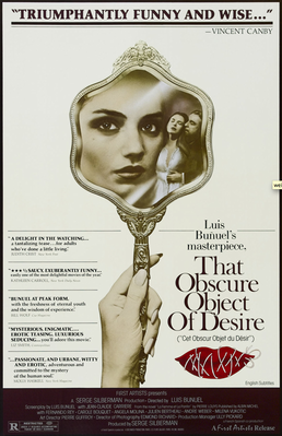 That Obscure Object of Desire - Poster Etats-Unis