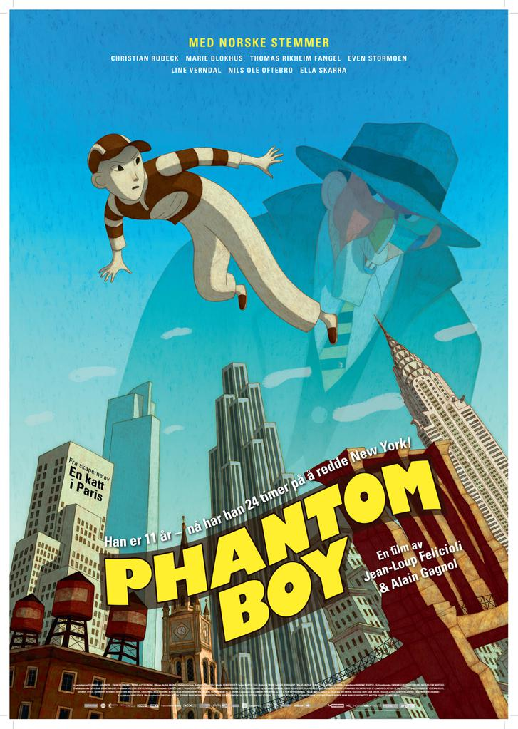 phantom boy de jean-loup felicioli  alain gagnol  2015