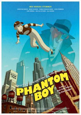 Phantom Boy - Poster - Norway