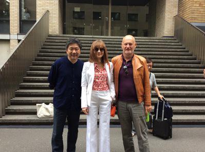 Portfolio - Hirokazu Koreeda, Isabelle Huppert et Jean-Paul Salomé à l'UniVersité Waseda
