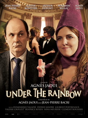 Under the Rainbow - Affiche anglaise internationale