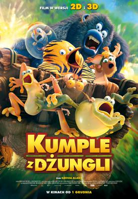 The Jungle Bunch - La Panda de la selva - Poster - Poland