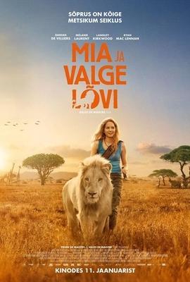 Mia and the White Lion - Poster - Estonia