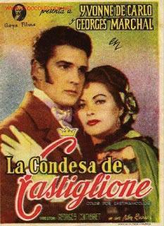 La Condessa de Castiglione - Poster Espagne