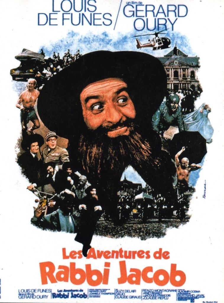 Les aventures de rabbi jacob 1973 unifrance films for Dans rabbi jacob