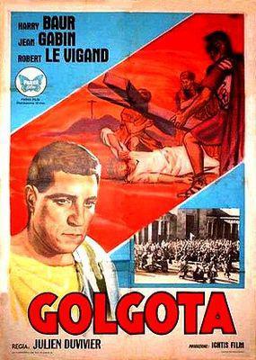 Golgotha - Poster Espagne