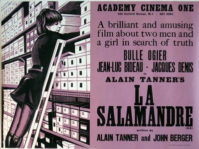La Salamandra - Poster Etats-Unis