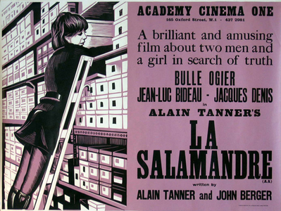 The Salamander - Poster Etats-Unis