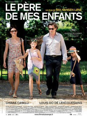 Père de mes enfants - Poster France