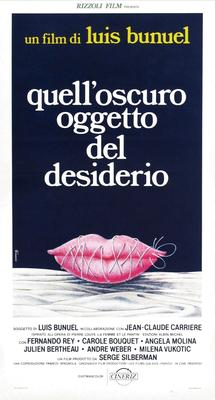 Cet obscur objet du désir - Poster Italie