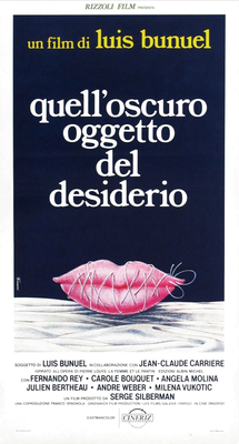 That Obscure Object of Desire - Poster Italie