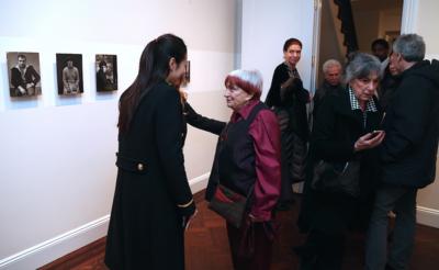 Portfolio - Agnès Varda pour le vernissage de son exposition