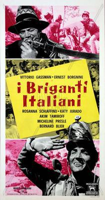 The Italian Brigands - Poster - Italie