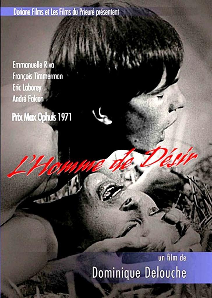 L'Homme de désir - Jaquette DVD - France