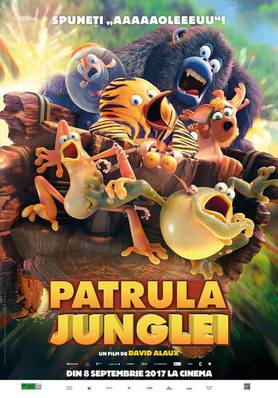 The Jungle Bunch - La Panda de la selva - Poster - Romania