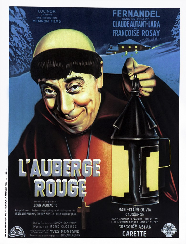 L'Auberge rouge - Poster France