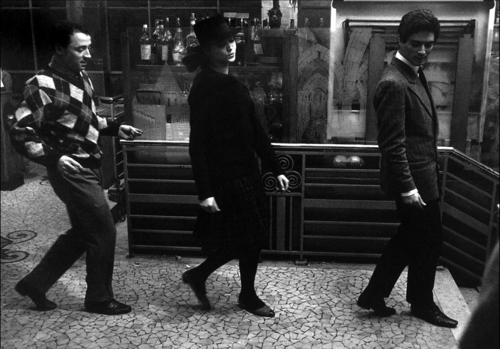 band of outsiders de jean-luc godard  1964