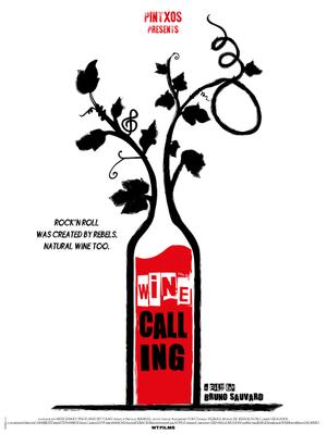 Wine Calling - Poster - International