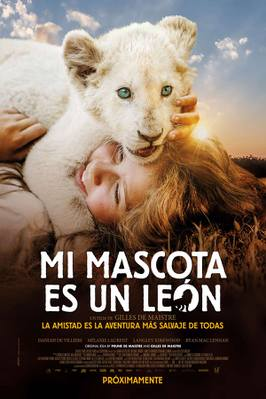 Mia y el león blanco - Poster - Peru
