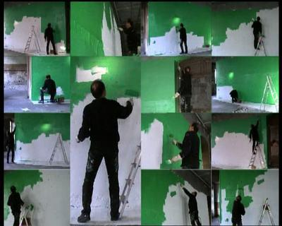 Georges Rousse - The Square