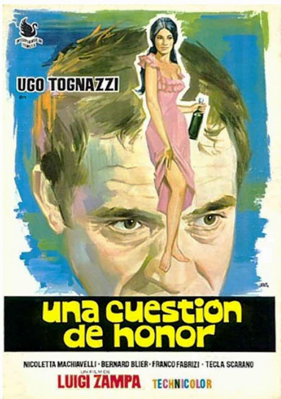Question d'honneur - Poster - Spain