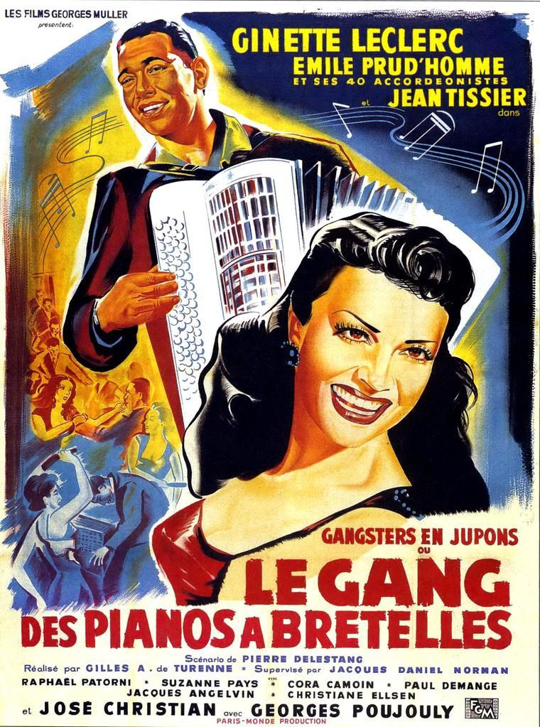 Le Gang des pianos à bretelles (Hold-Up en musique/Gangsters en jupons)