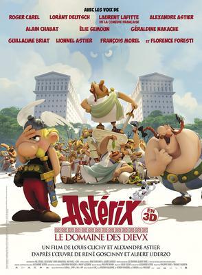 Asterix: la residencia de los dioses