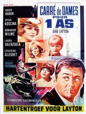Four Queens for an ace - Poster Belgique