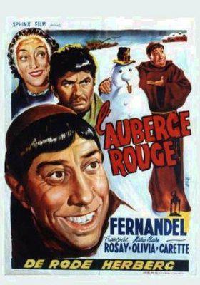 L'Auberge rouge - Poster Belgique