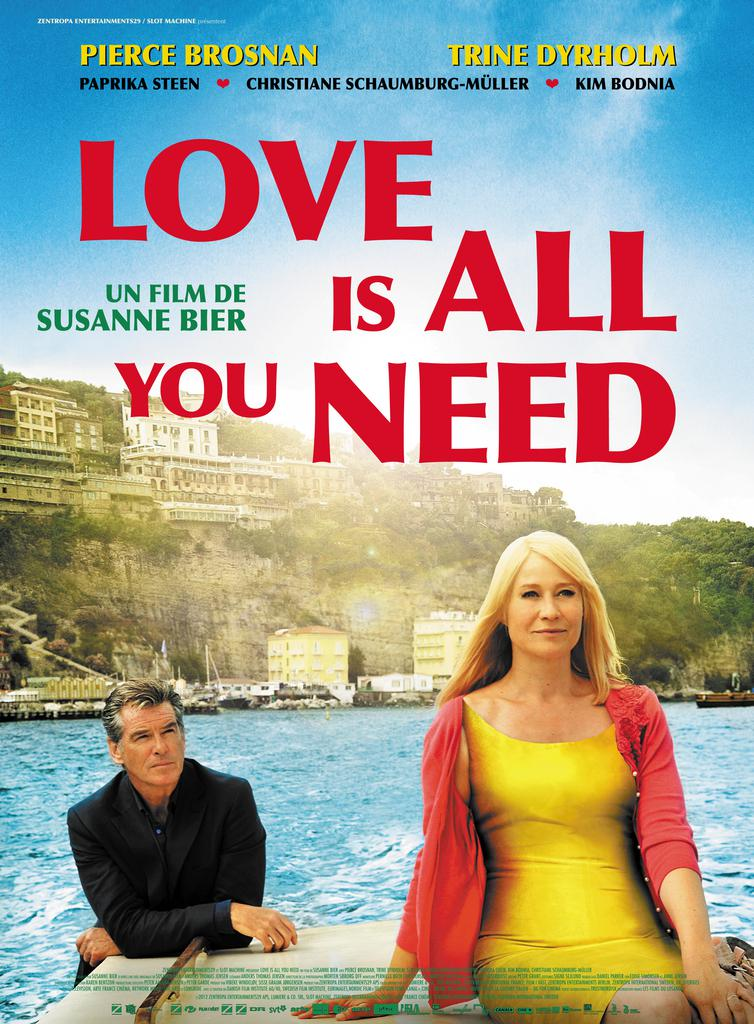 Love is all you need affiche