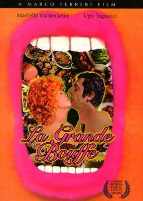 La Gran comilona - Poster DVD États Unis