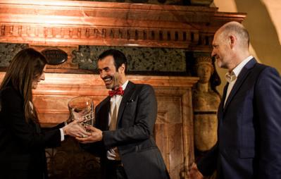 Andrea Occhipinti wins the 2nd UniFrance French Cinema Award