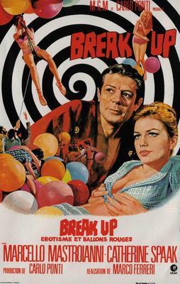 Break Up (Erotisme et ballons rouges)