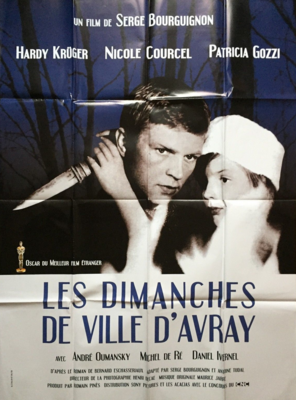 Sundays and Cybele - Poster France ressortie