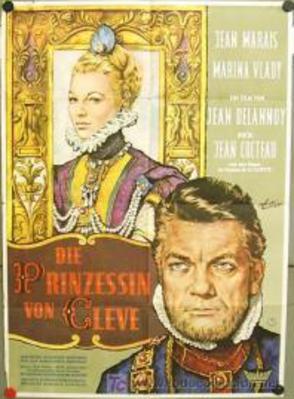 La Princesse de Clèves - Poster Allemagne