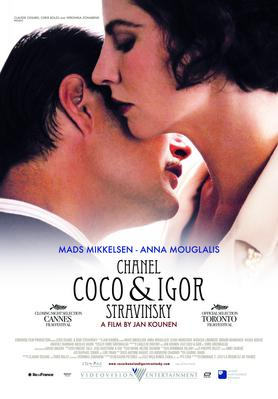 Coco Chanel & Igor Stravinsky - Poster - Afrique du Sud