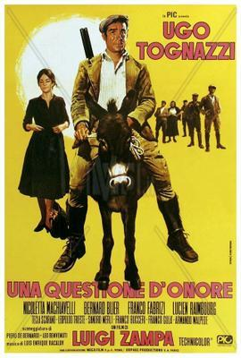 Una cuestión de honor - Poster - Italy