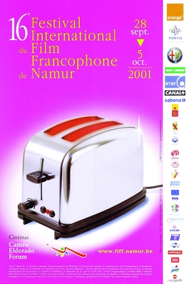 FIFF - Festival international du film francophone de Namur  - 2001