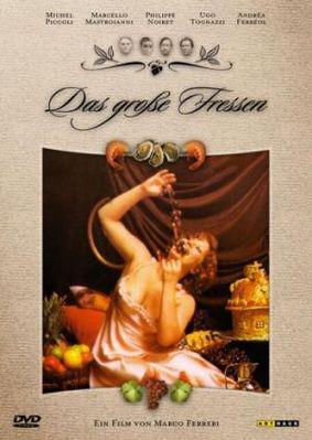 La Gran comilona - Poster DVD Allemagne