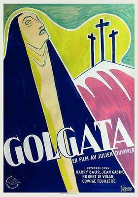 ゴルゴダの丘 - Poster Suède